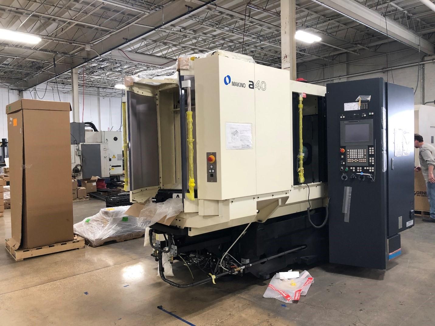 Makino A40 Horizontal machining center